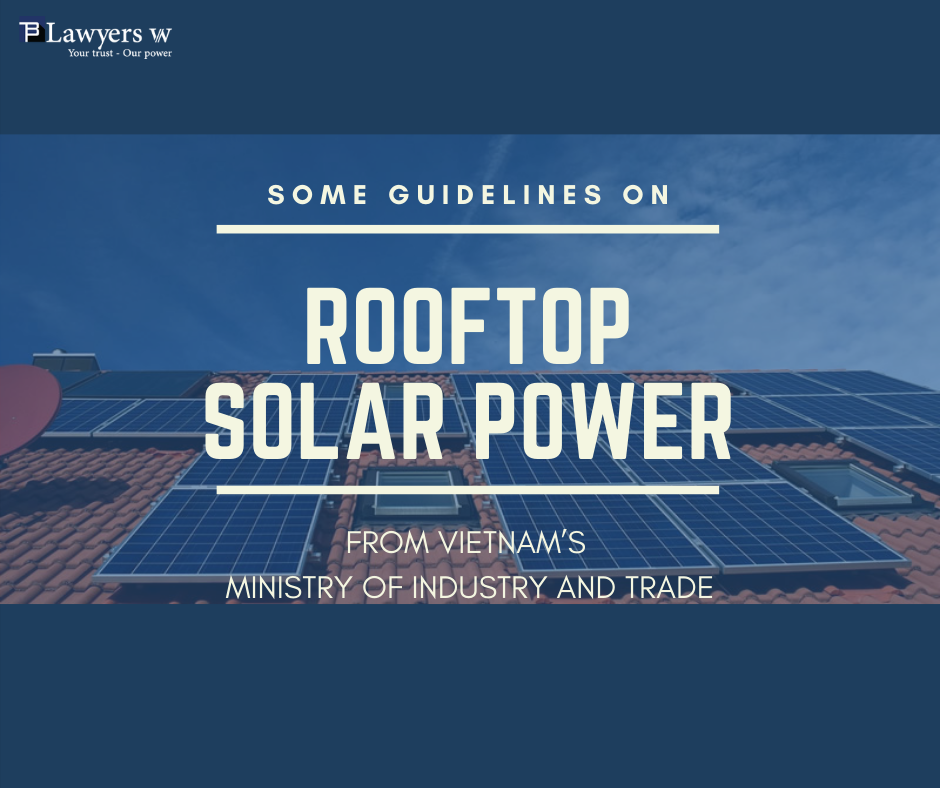 Guidance for rooftop solar system in Vietnam
