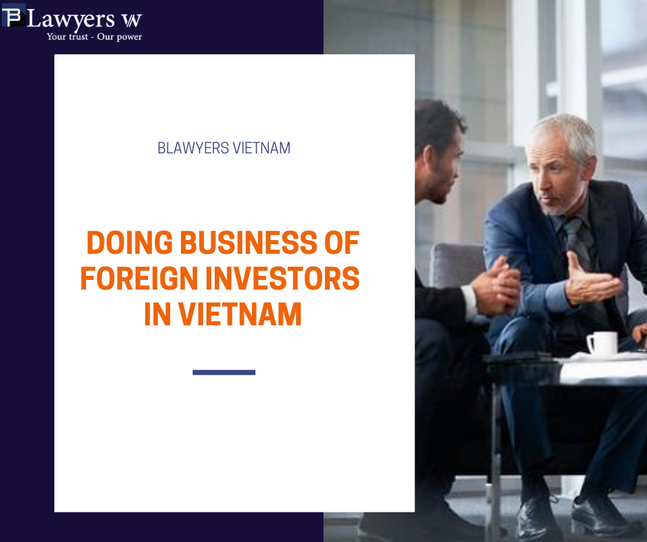 Doing business of foreign investors in Vietnam