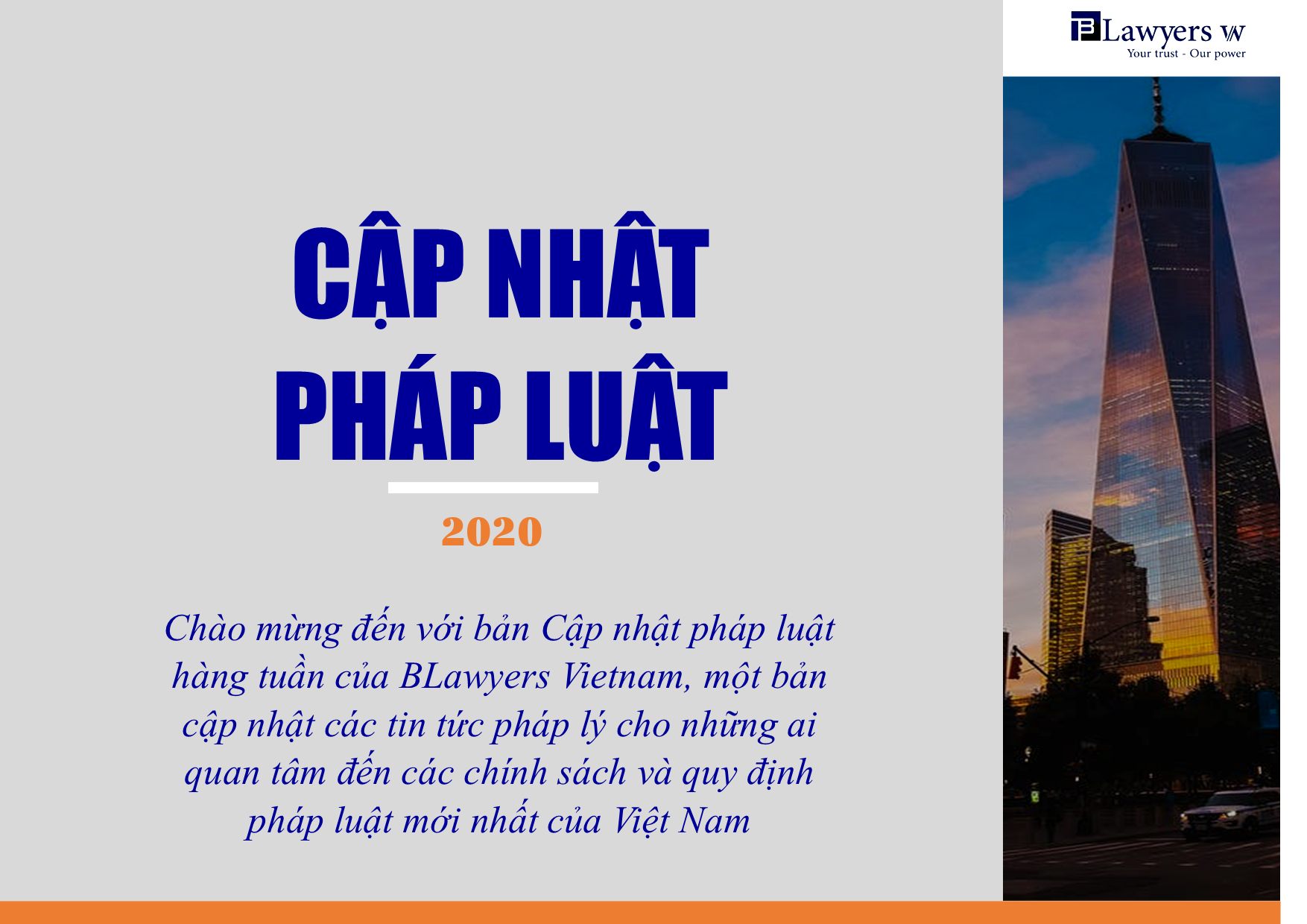 Cập nhật pháp luật Việt Nam