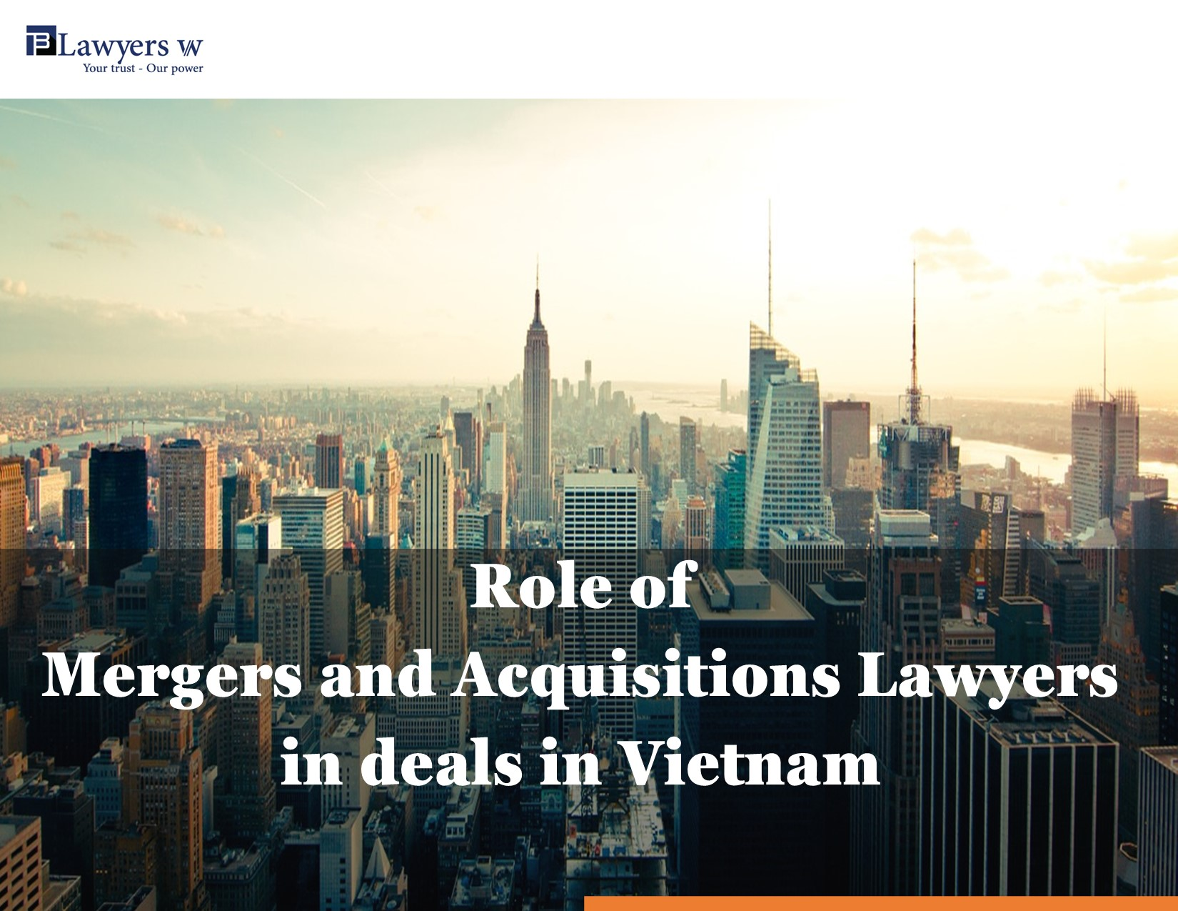 Mergers and Acquisitions lawyers in Vietnam
