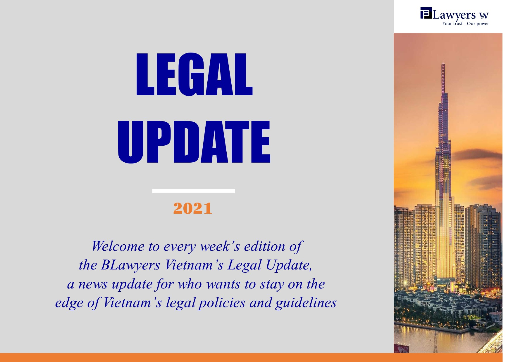 BLawyers Vietnam - Legal update